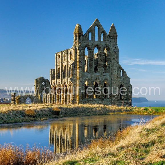 Whitby Abbey in Midwinter