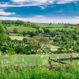 Dacre Banks Nidderdale personalised greetings card