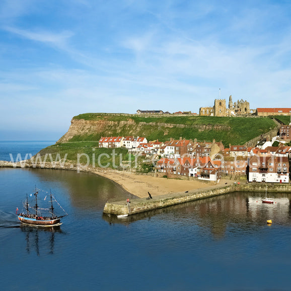 Whitby Replica Endeavour Personalised Handwritten Card