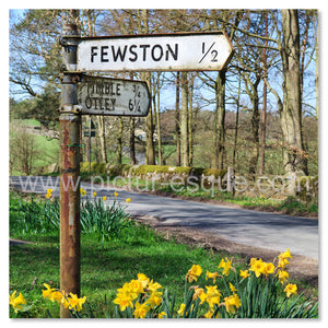 Road to Fewston card
