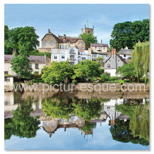 Knaresborough Waterside Reflections