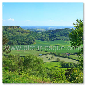 Sutton Bank North Yorkshire Blank card