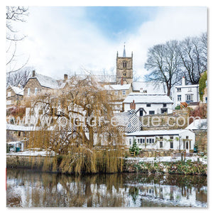 Waterside Knaresborough in the Snow