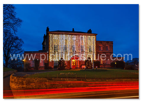 Knaresborough House Christmas Lights