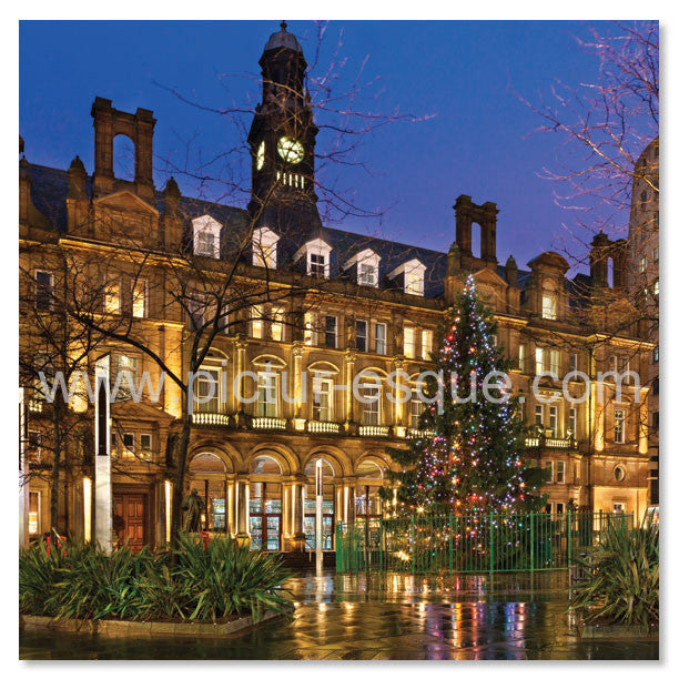 City Square Leeds Christmas card