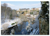Viaduct in Winter Knaresborough Christmas Card