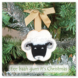 Swaledale Sheep Yorkshire Christmas Card