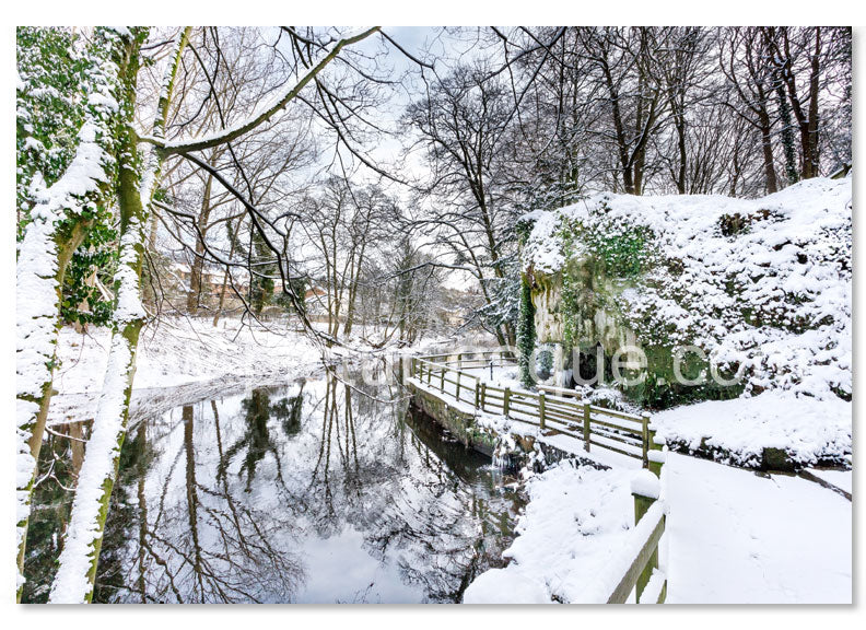 6 Luxury Knaresborough Christmas Cards (mixed pack 2018 collection 3)