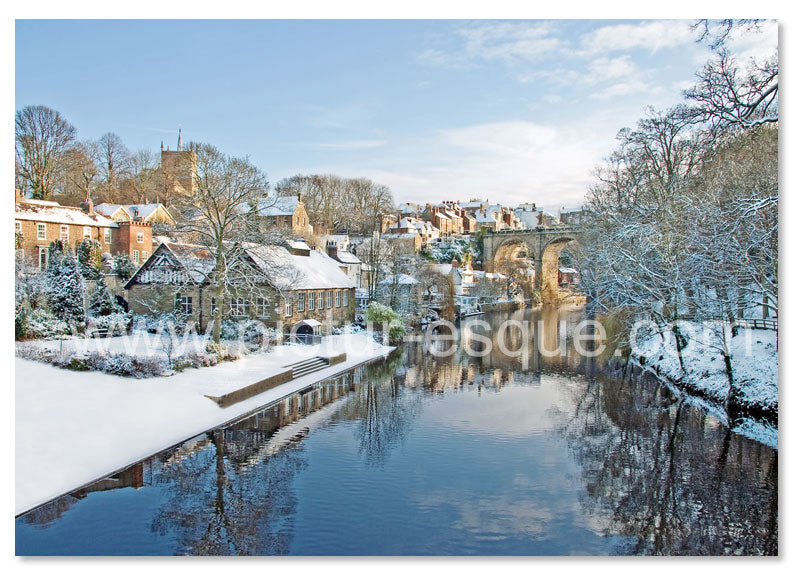 6 Luxury Knaresborough Christmas Cards (mixed pack 2020 collection 1)