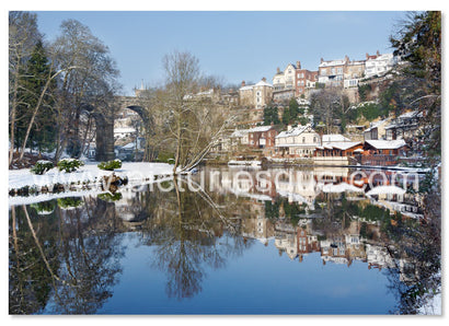 6 Luxury Knaresborough Christmas Cards (mixed pack 2019 collection 4)
