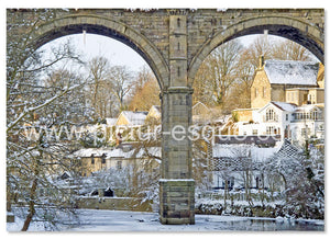 Knaresborough Viaduct Christmas cards