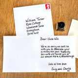Sutton Bank Personalised Handwritten Card