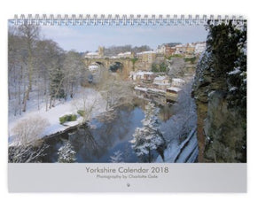Yorkshire Wall Calendar 2018 [pre-order for early Dec delivery]