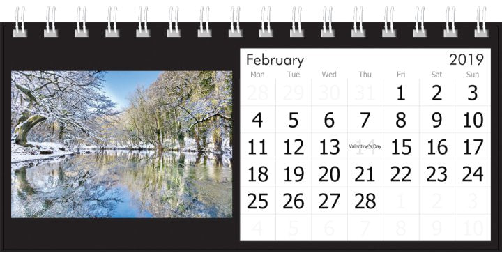 Knaresborough Desk Calendar 2019 by Charlotte Gale Photography