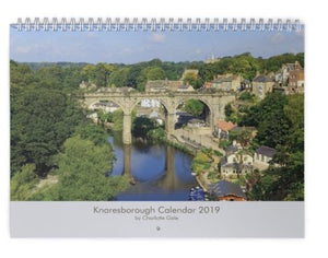 Knaresborough Wall Calendar 2019 by Charlotte Gale