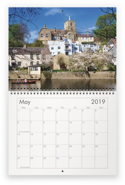 Knaresborough Calendar 2019 by Charlotte Gale