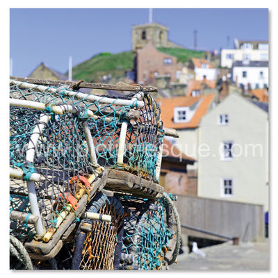 Whitby Crab Pots by Charlotte Gale