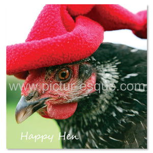 Happy Hen Hen Party Greetings Card