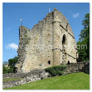 Knaresborough Castle blank greetings card