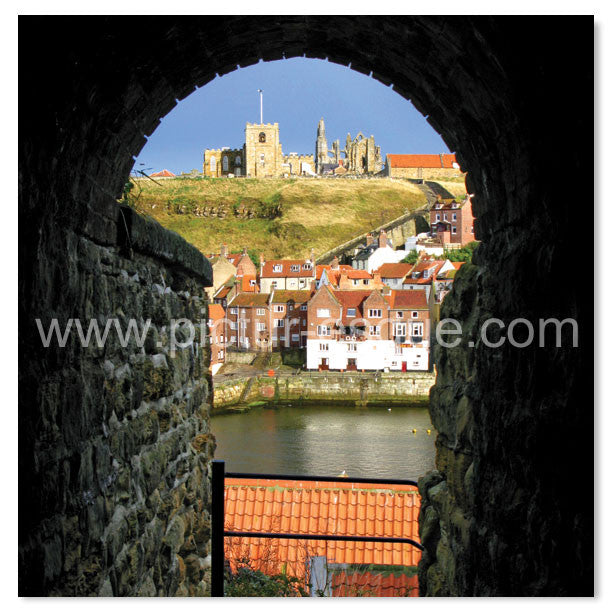 Through the Keyhole, Whitby by Charlotte Gale