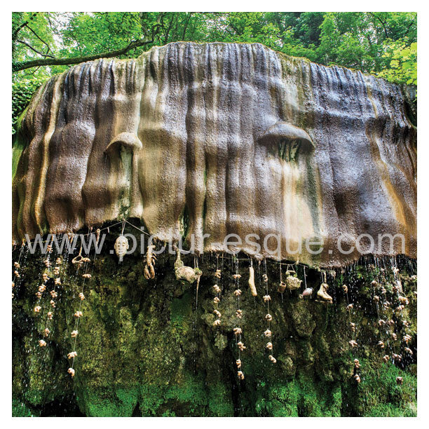 Mother Shipton's Cave Petrifying Well Blank Knaresborough Greetings card
