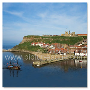 Whitby Replica Endeavour Blank Mini Notecards