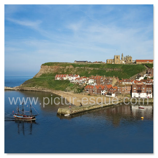 Mixed Pack of Whitby Blank Mini Notecards