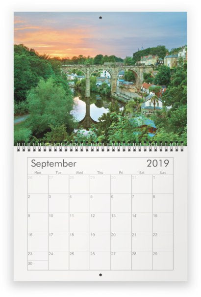 Knaresborough Wall Calendar 2019