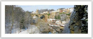 Knaresborough Viaduct in Winter Gift Tag