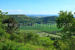 View from Sutton Bank canvas for wall