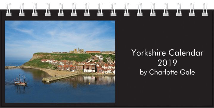 Yorkshire Desk Calendar 2019 by Charlotte Gale