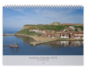 Yorkshire A4 Wall Calendar 2019 by Charlotte Gale