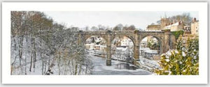 Knaresborough Christmas Gift Tag by Charlotte Gale