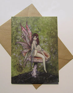 Forest Fae - Fairy Greeting Card