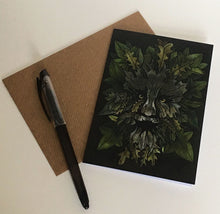 Load image into Gallery viewer, The Green Man - Art Greeting Card