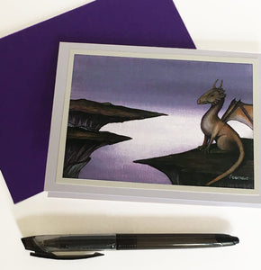 Iolite Heights - Art Greeting Card