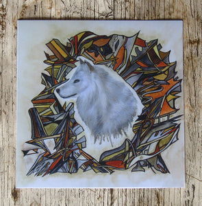 Spirit - Wolf Greeting Card