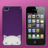 Cat Face iPhone 4/4S Jelliskin