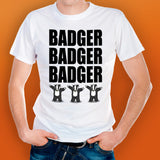 Slogan T-Shirt: Badger Badger Badger