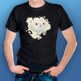 Cat Face Drawn T-shirt