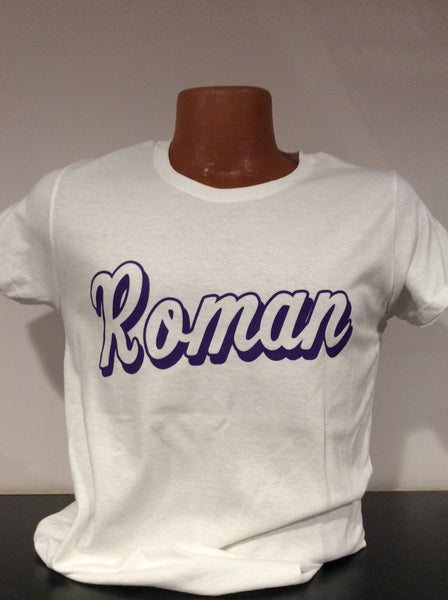 Ladies Roman White Out