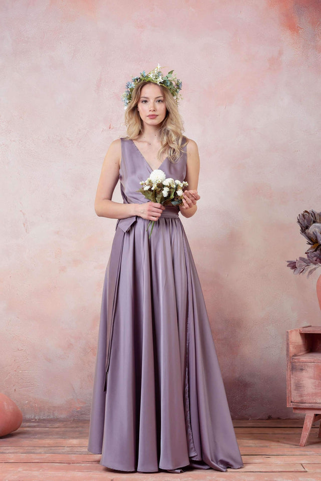 Infinity Long Bridesmaid Dress