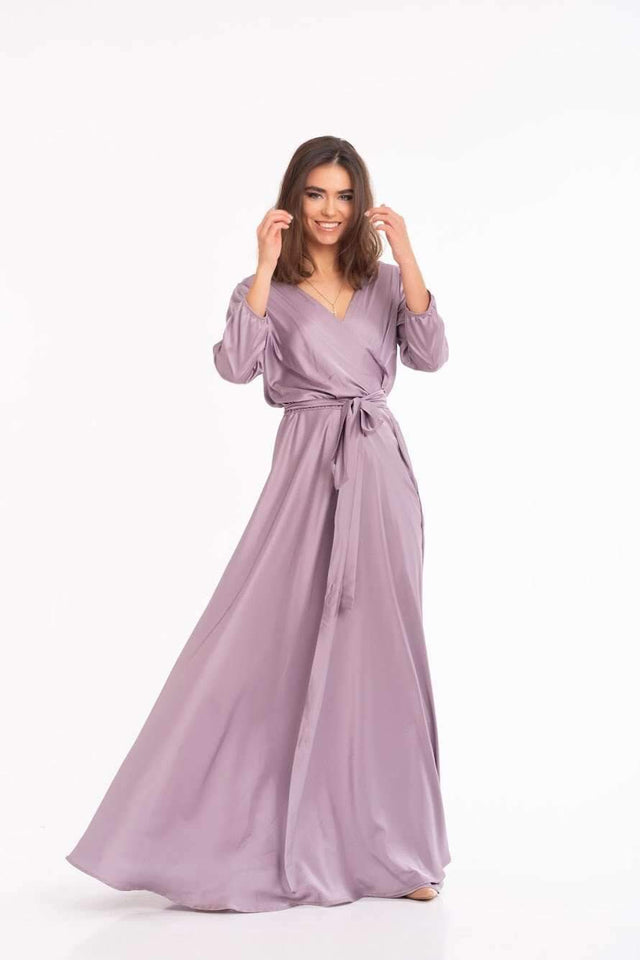 Rose Gold Elegant Long Maxi Dress