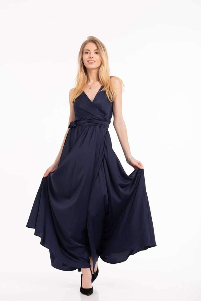 Blue Jeans Infinity Bridesmaid Dress