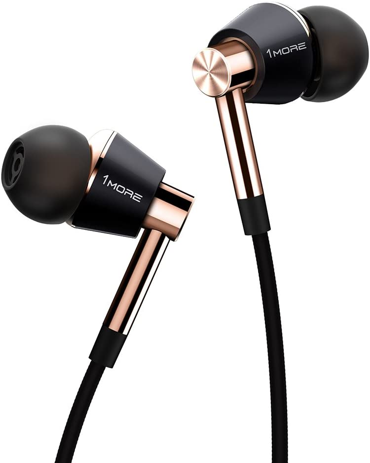 1MORE Triple Driver In-Ear Earphones Hi-Res Headphones