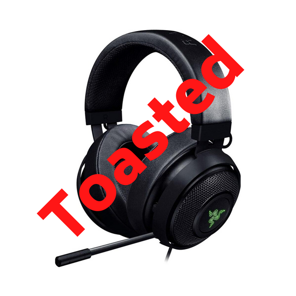 Razer Kraken 7.1 V2: 7.1 Surround Sound - Retractable Noise-Cancelling Mic - Lightweight Aluminum Frame - Gaming Headset Works with PC & PS4 - Black