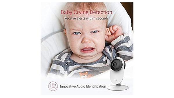 YI 4pc Home Camera, 1080p Wi-Fi IP Security Surveillance Smart System with 24/7 Emergency Response, Night Vision, Baby Monitor on iOS, Android App - Cloud Service Available