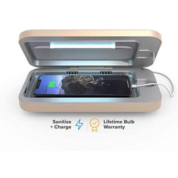 PhoneSoap 3 UV Smartphone Sanitizer & Universal Charger | Patented & Clinically Proven UV Light Disinfector