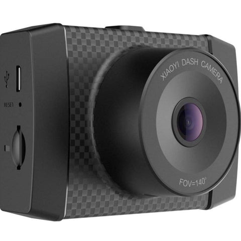 "YI 2.7K Ultra Dash Cam with 2.7"" LCD Screen, 140° Wide Angle Lens, Mobile APP, Dual-Core Processor, Voice Control, MEMS 3-axis G-Sensor, and Night Vision (Micro SD Card and Car Charger Included)"