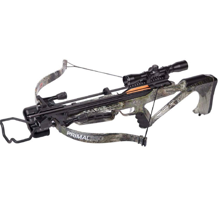 CenterPoint Primal Recurve Crossbow Package